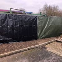 Heras Fencing Tarpaulin - 3.41 m x 1.76 m - 4 colour options